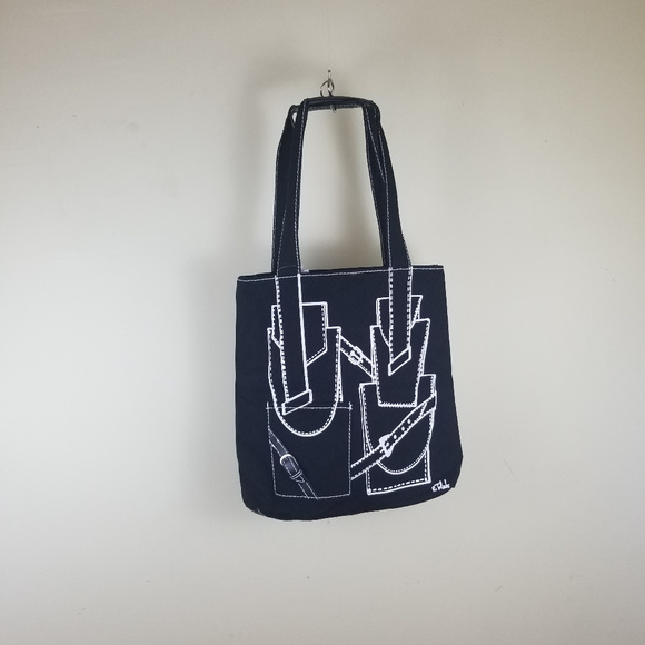Isabel Toledo Handbags - Isabel Toledo Canvas Totebag